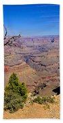 Grand Canyon South Rim Trail Bath Towel
