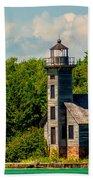 Grand Island Lighthouse Bath Towel