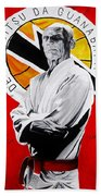 Grand Master Helio Gracie Bath Towel