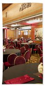 Grand Salon 03 Queen Mary Ocean Liner Bath Towel