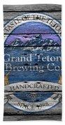 Grand Teton Brewing Bath Towel