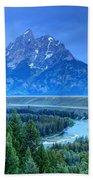 Grand Teton  - Snake River Overlook  Bath Towel