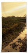 Grand Western Canal Nr Halberton  Bath Towel