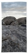 Granite Mountain Boulders Bath Towel