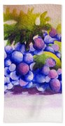 Grapes Hand Towel