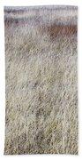 Grass Abstract Bath Towel