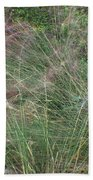 Grass In The Wind Bath Towel
