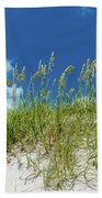 Grass On The Beach, Bill Baggs Cape Bath Towel