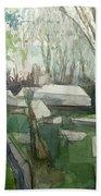 Graveyard Bath Towel