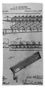 Graveyard Patent Bath Towel
