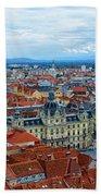Graz Old Town Bath Towel