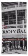 Great American Ball Park And The Cincinnati Reds Bath Towel