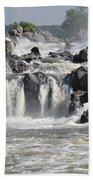 Great Falls Of The Potomac River Hand Towel