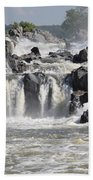 Great Falls Of The Potomac River Bath Towel
