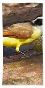 Great Kiskadee Bath Towel