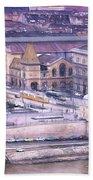 Great Market Hall Budapest Bath Towel