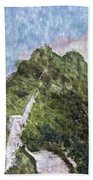 Great Wall 0033 - Watercolor 2 Sl Bath Towel