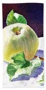 Green Apple Bath Towel