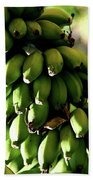 Green Bananas Bath Towel