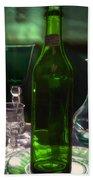Green Bottle Bath Towel