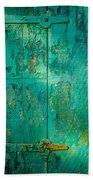Green Door - Carmel By The Sea Bath Towel
