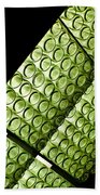 Green Glass Bath Towel