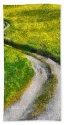 Green Green Grass Of Home Bath Towel