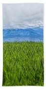 Green Pastures Bath Towel
