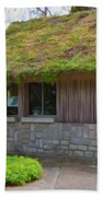 Green Roof Bath Towel