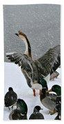 Green Valley Ducks Bath Towel