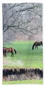 Greener Pastures Bath Towel