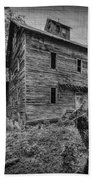 Greer Mill Black And White Hand Towel