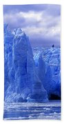 Grey Glacier Patagonia Chile Bath Towel
