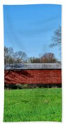 Griesemers Mill Covered Bridge Berks County Pennsylvania Bath Towel