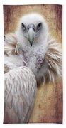 Griffon Vulture Bath Towel