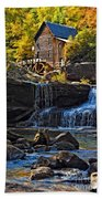 Grist Mill In Babcock State Park West Virginia Bath Towel