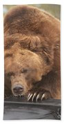 Grizly Lunch Bath Towel