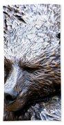 Grizzly Bath Towel