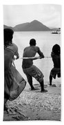 Gros Islet Fishermen Bath Towel