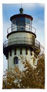 Grosse Point Lighthouse Bath Towel