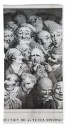 Group Of Thirty-five Heads Bath Towel