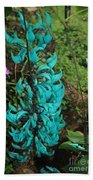 Growing Turquoise Bath Towel