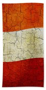 Grunge Austria Flag Bath Towel