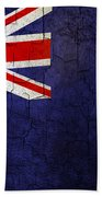 Grunge Falkland Islands Flag Bath Towel