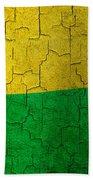 Grunge Guinea-bissau Flag Bath Towel