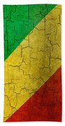 Grunge Republic Of The Congo Flag Bath Towel