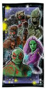 Guardians Of The Galaxy Bath Towel