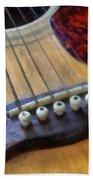 Guitar Hand Towel
