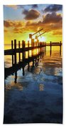 Gulf Coast Sunset Bath Towel