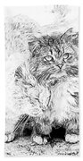 Gutter Kitties Seven Bath Towel